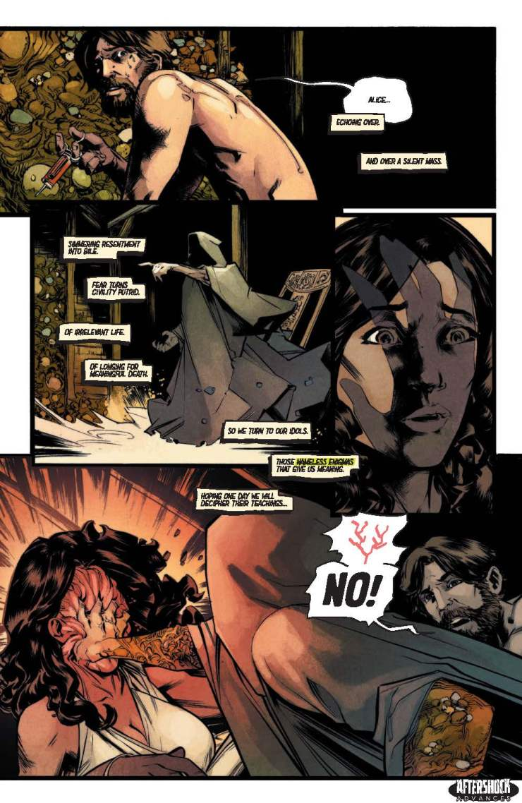 EXCLUSIVE AfterShock Preview: I Breathed a Body TPB