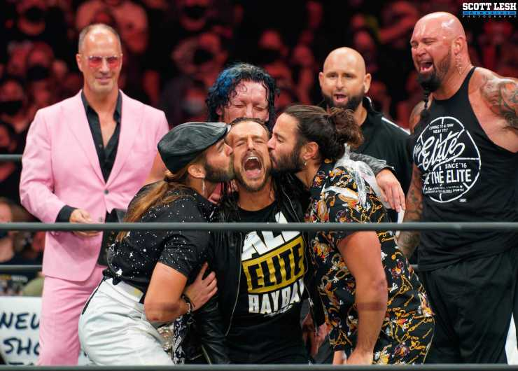 AEW All Out 2021 Adam Cole The Elite