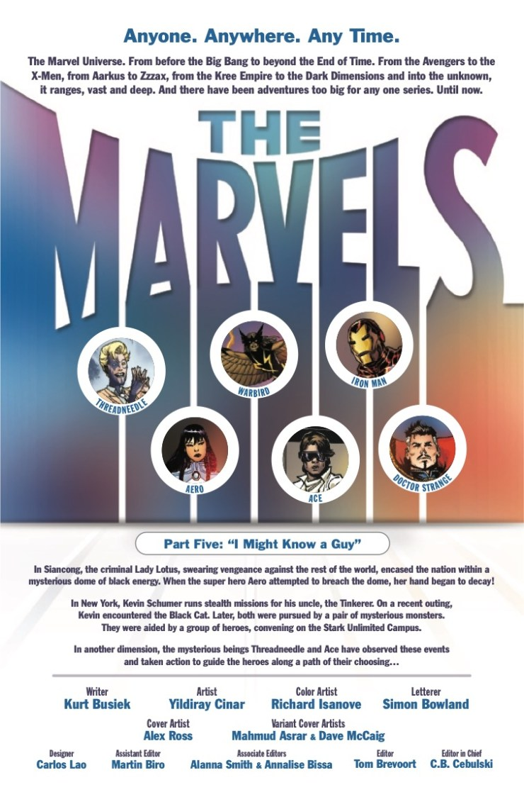 Marvel Preview: The Marvels #5