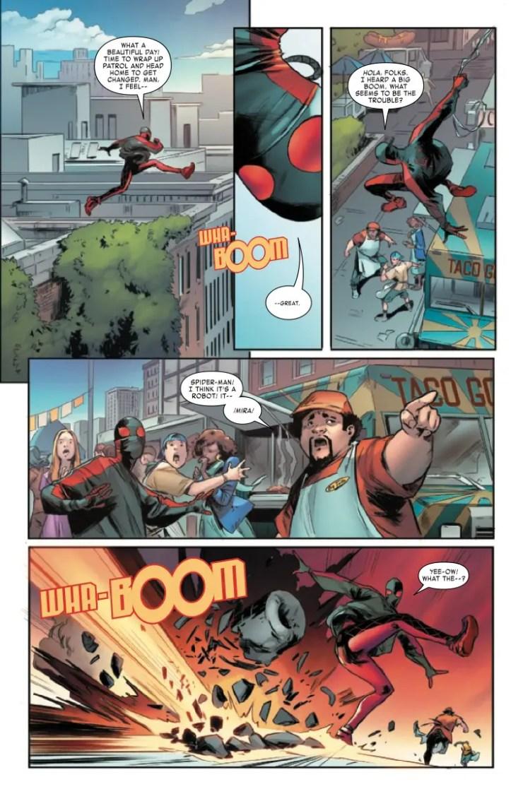 Marvel Preview: Miles Morales: Spider-Man #30