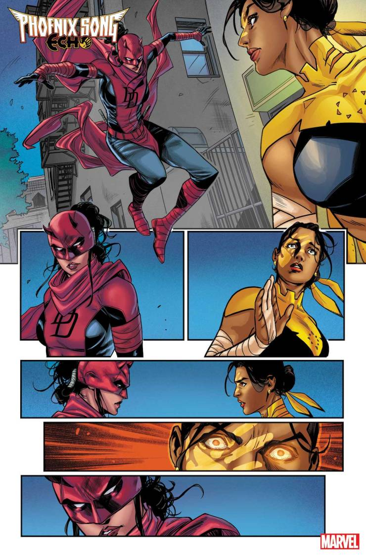 Marvel First Look: Phoenix Song: Echo #1