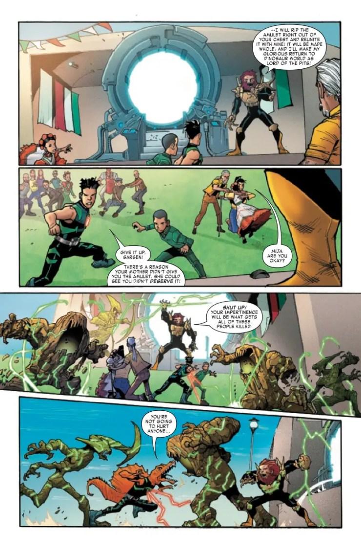 Marvel Preview: Reptil #4