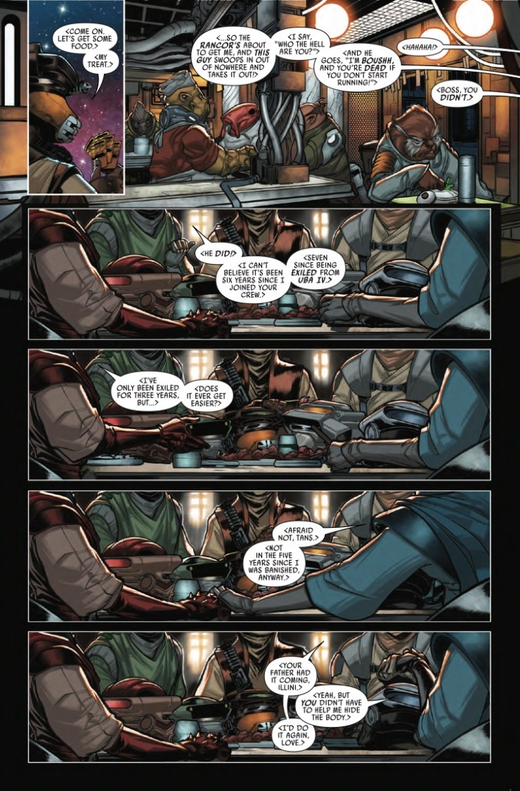 Marvel Preview Star Wars: War of the Bounty Hunters - Boushh #1