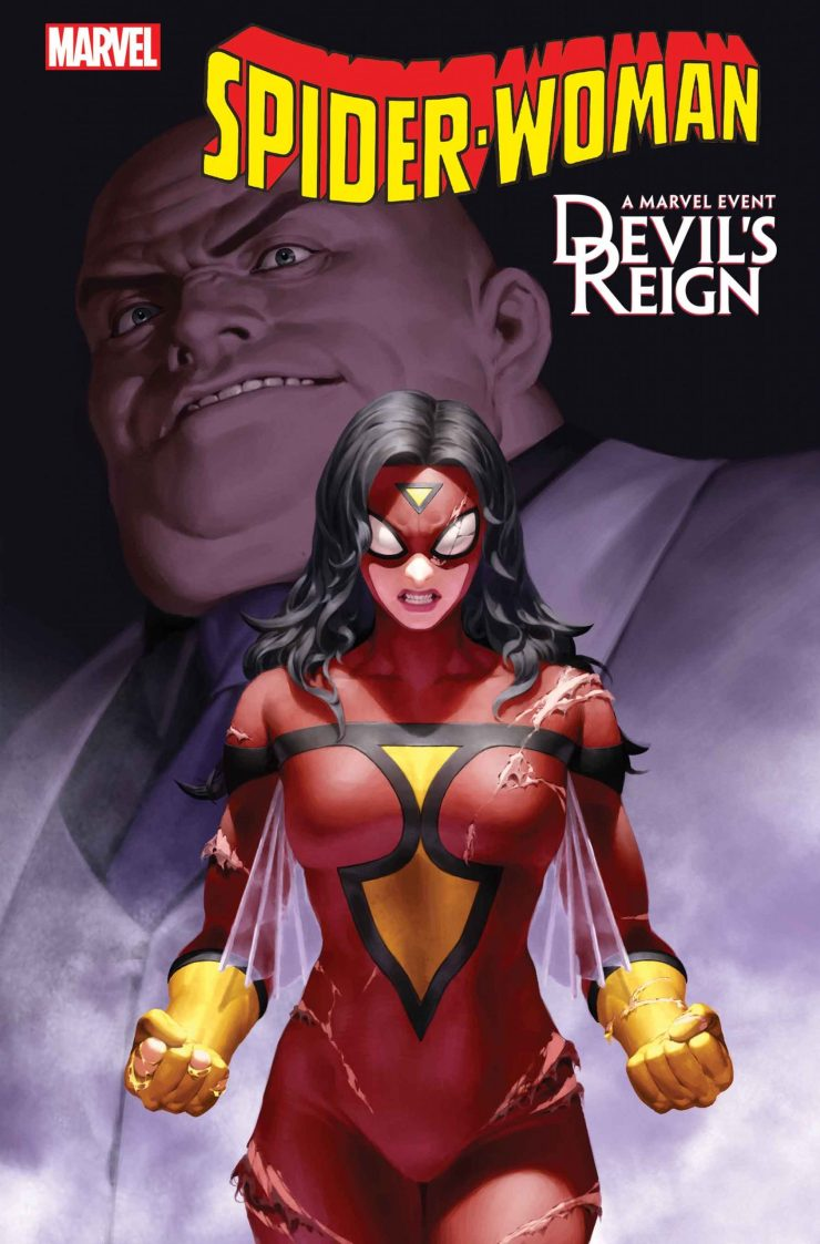Marvel reveals 'Devil's Reign' to crossover with 'Spider-Woman'