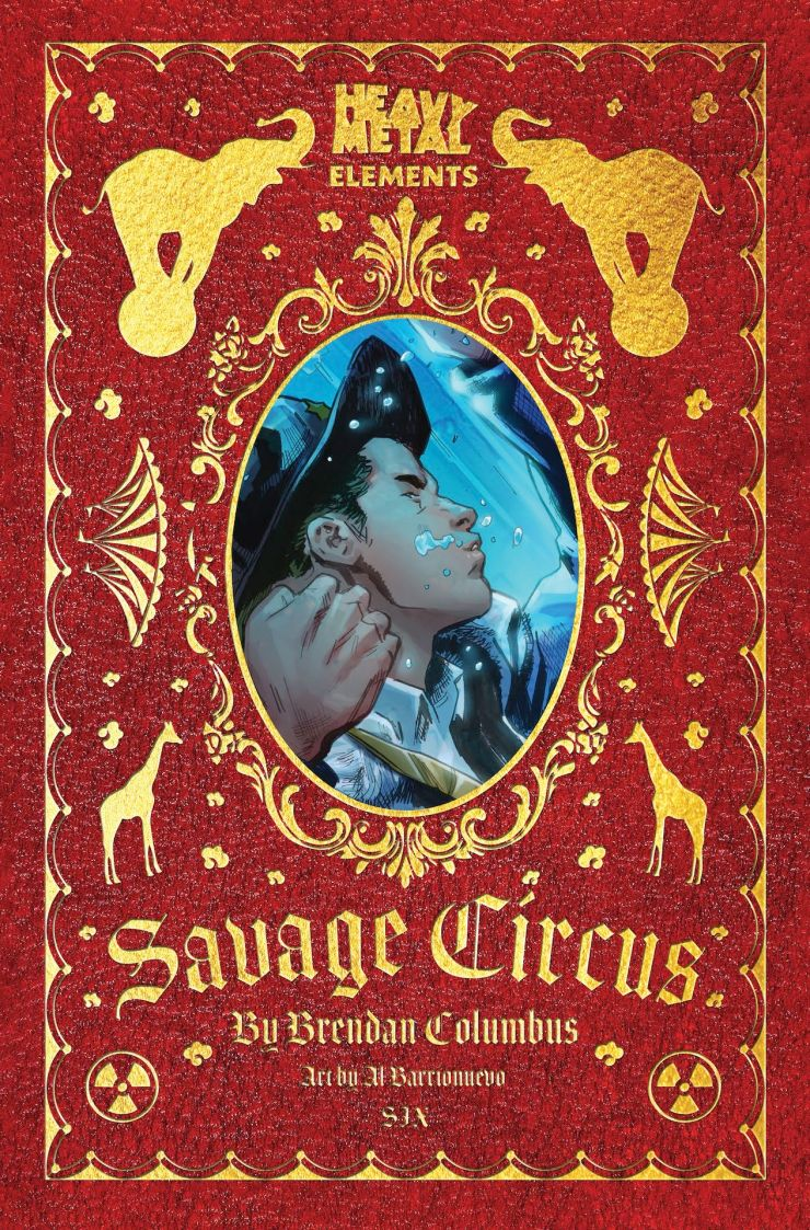 EXCLUSIVE Heavy Metal Preview: Savage Circus #6
