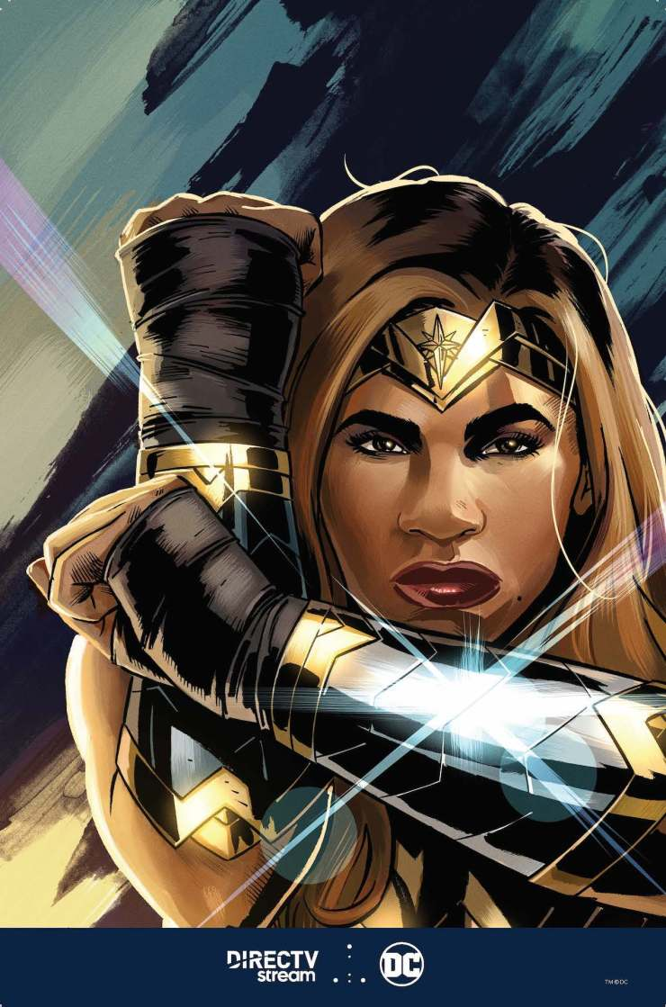 'Serving Up Justice: Featuring Serena Williams & Wonder Woman'