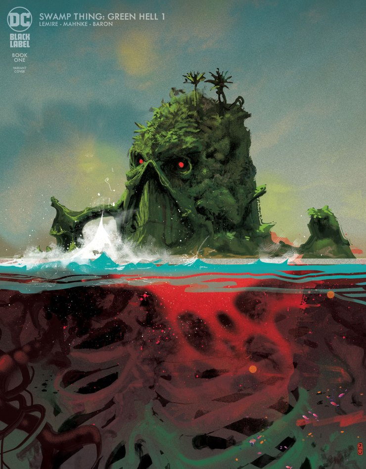 DC First Look: Swamp Thing Green Hell #1
