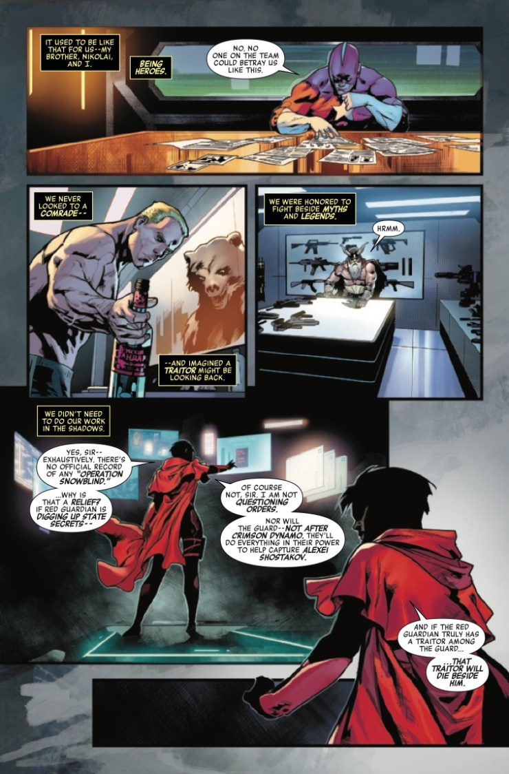 Marvel Preview: Winter Guard #2
