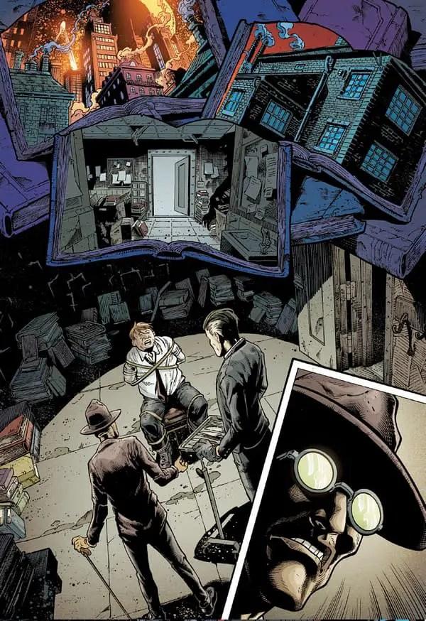 Batman vs. Bigby! A Wolf In Gotham #1
