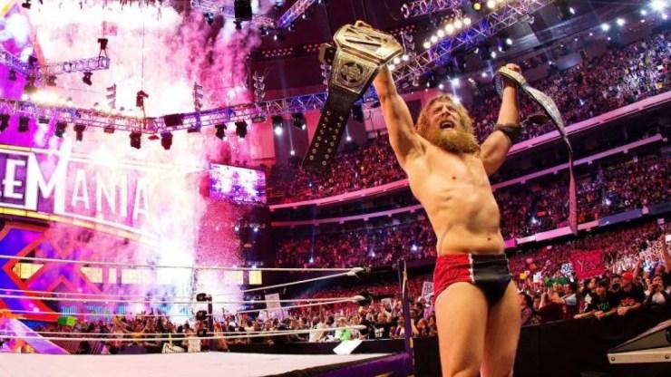 Daniel Bryan wins the WWE World Heavyweight Championship at WrestleMania XXX
