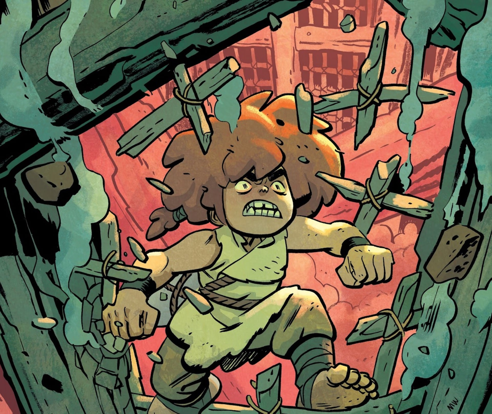 'Jonna and the Unpossible Monsters' #6 shows how a story can feel big in the little moments
