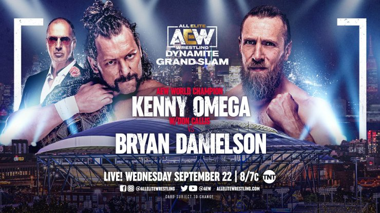 AEW Dynamite Grand Slam: Kenny Omega vs. Bryan Danielson