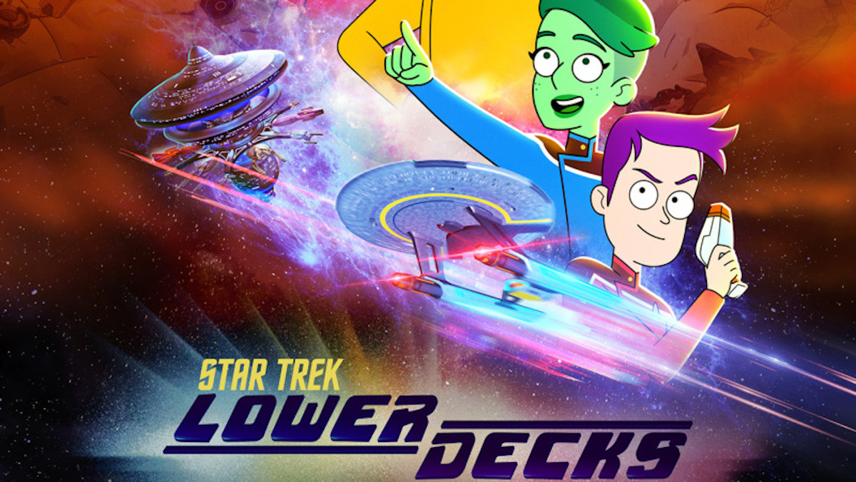lower decks poster