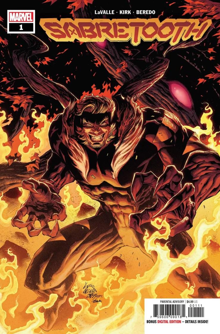 Marvel reveals 'Sabretooth' #1 coming January 2022