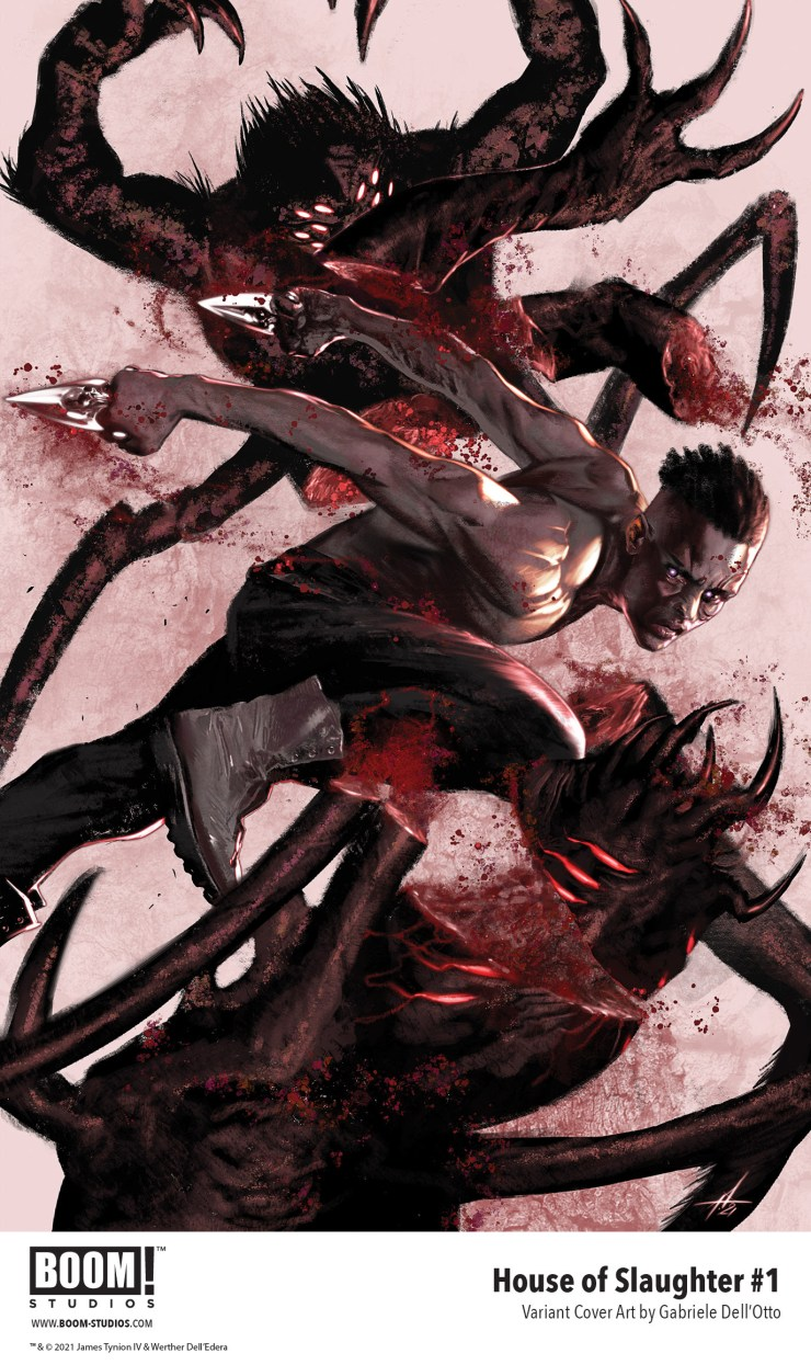 BOOM! reveals Gabriele Dell'Otto's 'House of Slaughter' variant cover