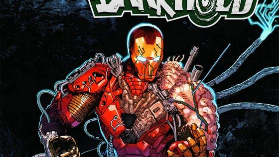 'Darkhold: Iron Man' #1 has the feel of a cult '80s mad scientist sci-fi-horror