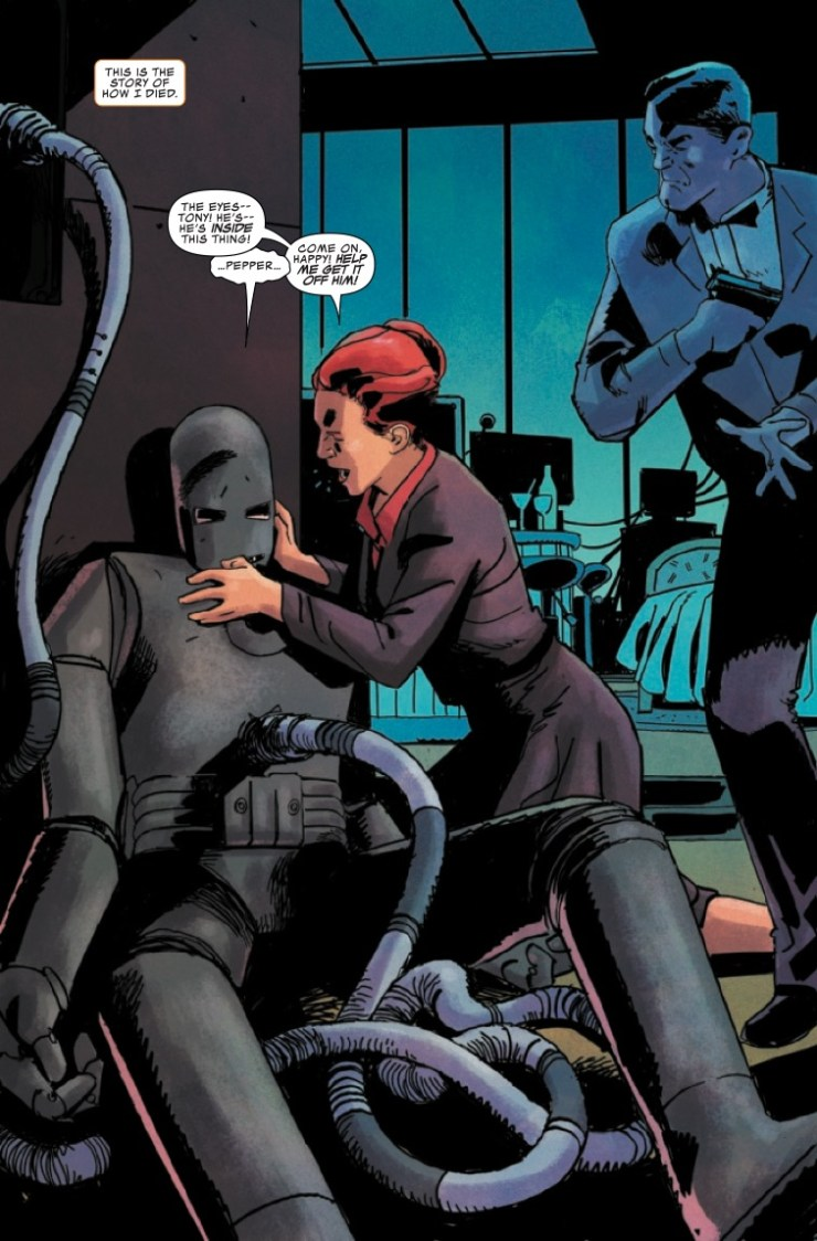 Marvel Preview: Darkhold: Iron Man #1