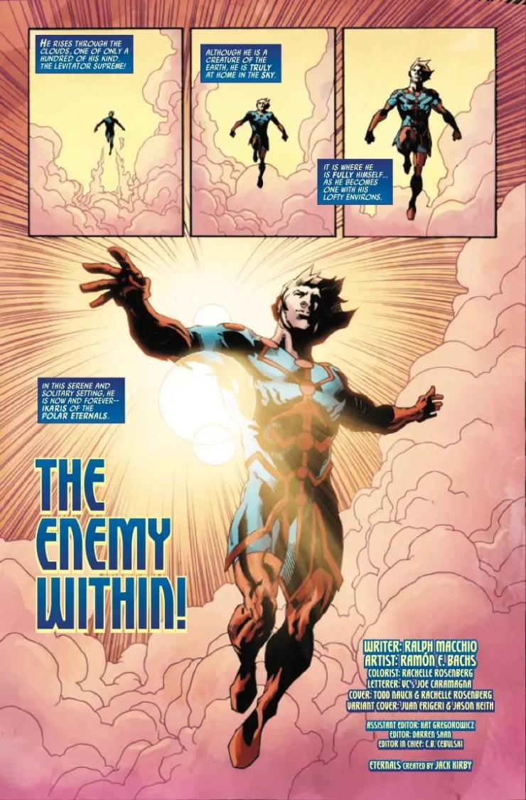 Marvel Preview: Eternals Forever #1