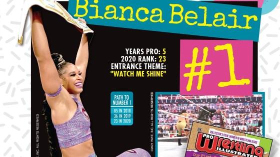 Bianca Belair tops 2021's PWI Women's 150