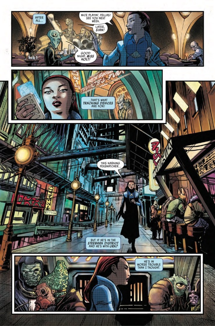 Marvel Preview: Star Wars: The High Republic: Trail of Shadows #1
