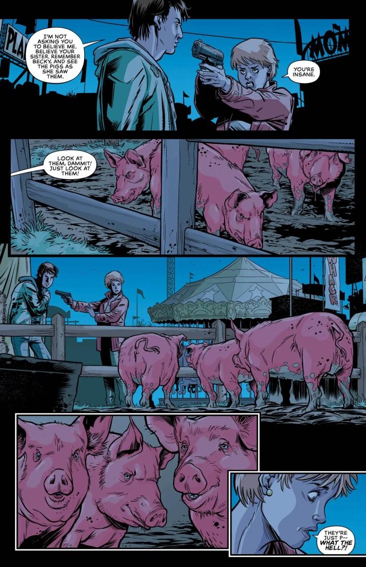 Tyrone Finch talks romance and demon pigs in 'Swine'
