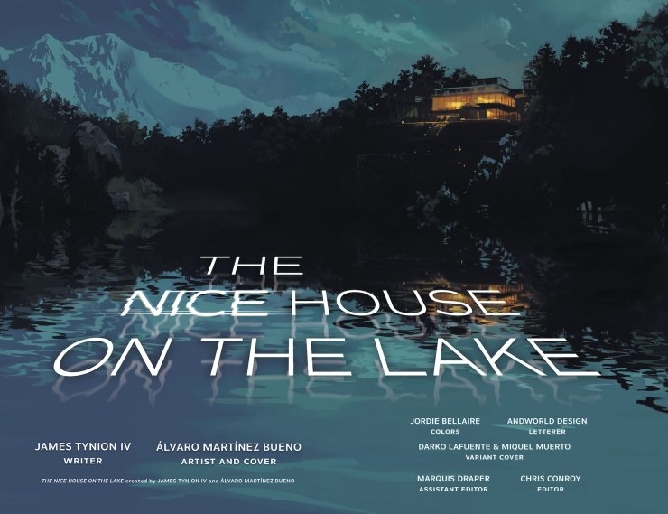 DC Preview: The Nice House on the Lake #5