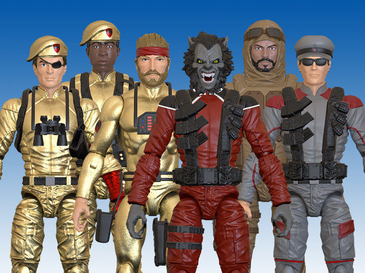 Bill Murphy Eagle Force 40th Anniversary Action Figures