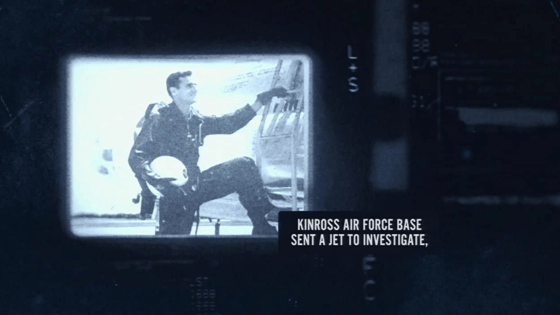 Did a UFO cause the disappearance of a jet from Kinross Air Force Base?