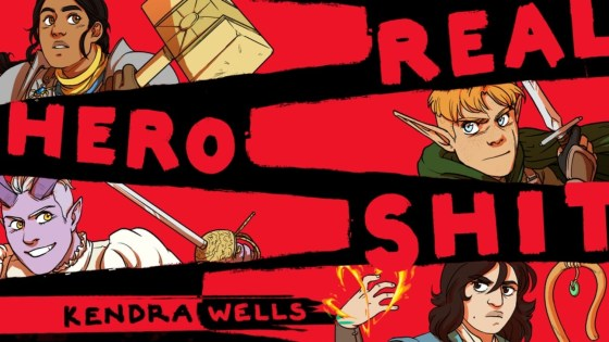 'Lord of the Rings but gay and dumb': Kendra Wells on 'Real Hero Sh*t'