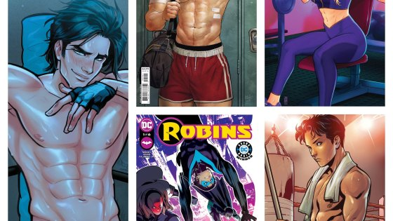 'Robins' work out in new variant covers from DC Comics