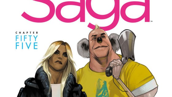 'Saga' by Vaughan and Staples is returning in January