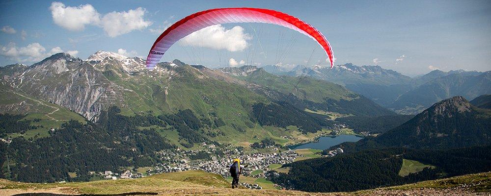 Paragliding Startplatz Brämabüel