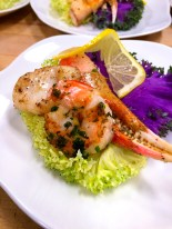 Our Seafood Display featured Maine Lobster, Grilled Prawns, Alaskan Crab, Scallops, Fish Roe