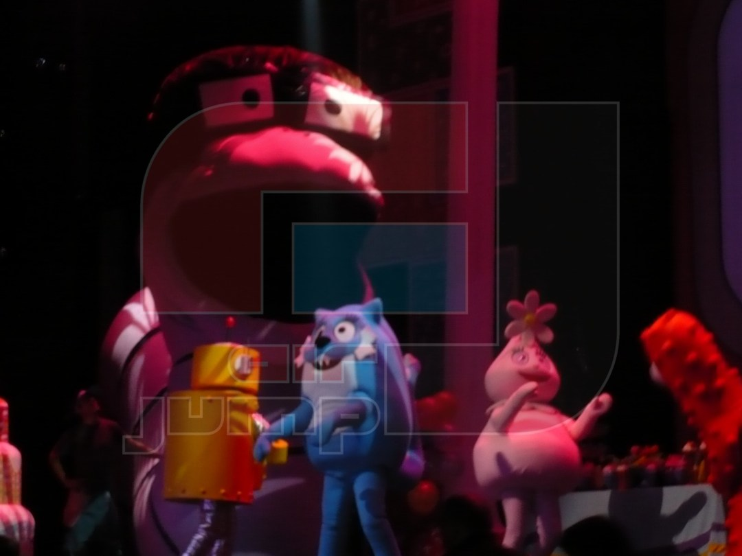 escenografia inflable gabba gabba 003