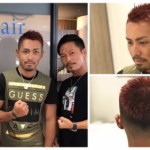 「K-1フェザー級世界王者」村越優太さんの漢気ヘアー。