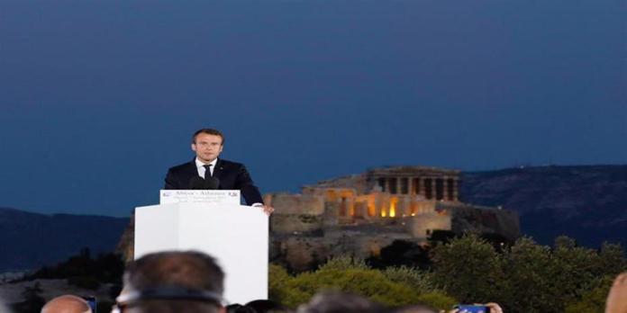 Μακρόν: Στην Ευρώπη βασιστήκαμε πολλές φορές σε ψέματα