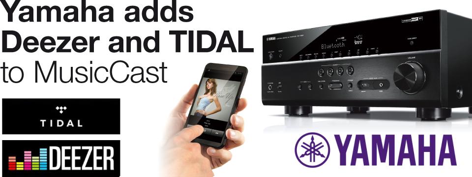 Yamaha adding Deezer, TIDAL, airable Radio and airable On