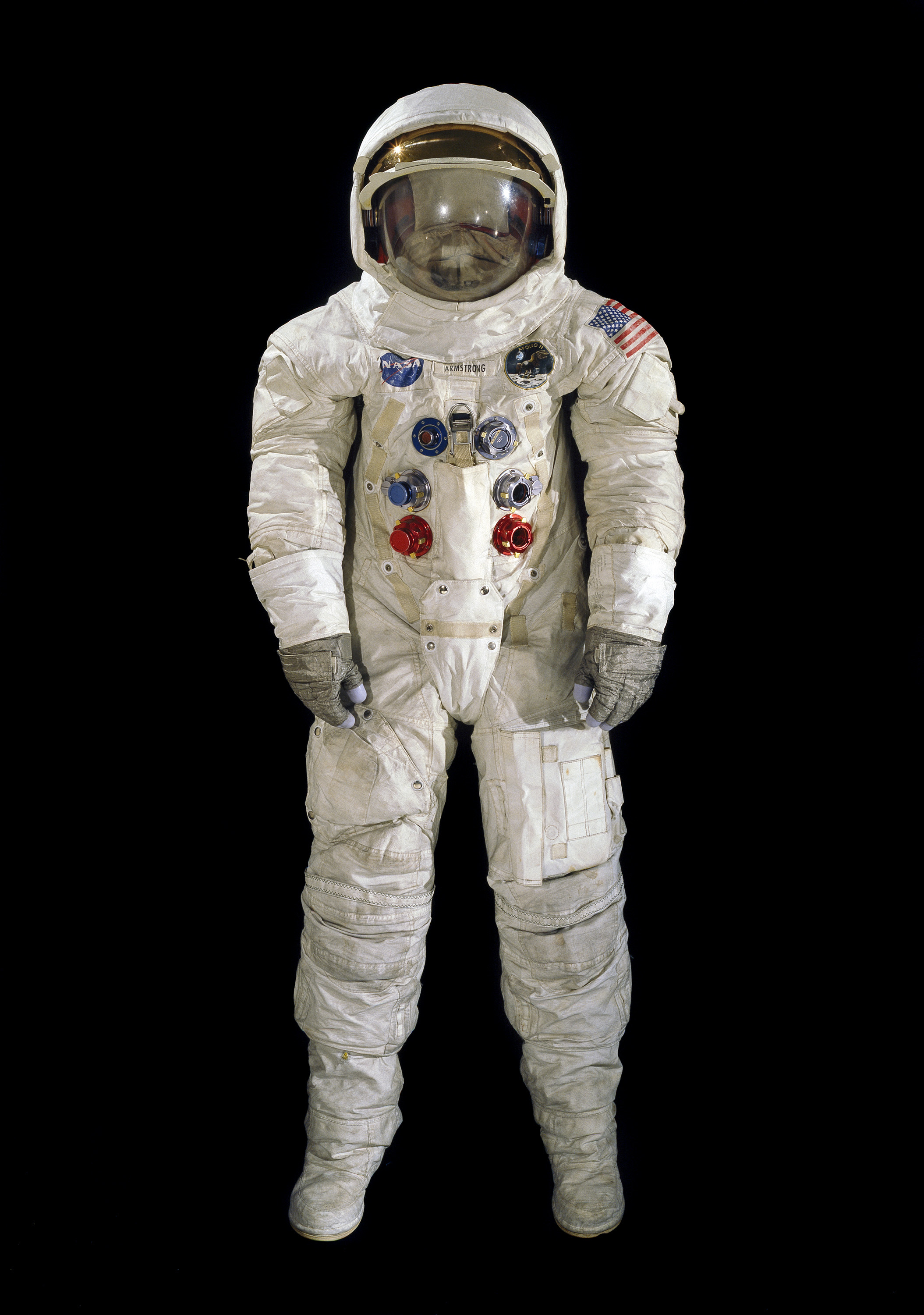 Pressure Suit A7 L Armstrong Apollo 11 Flown