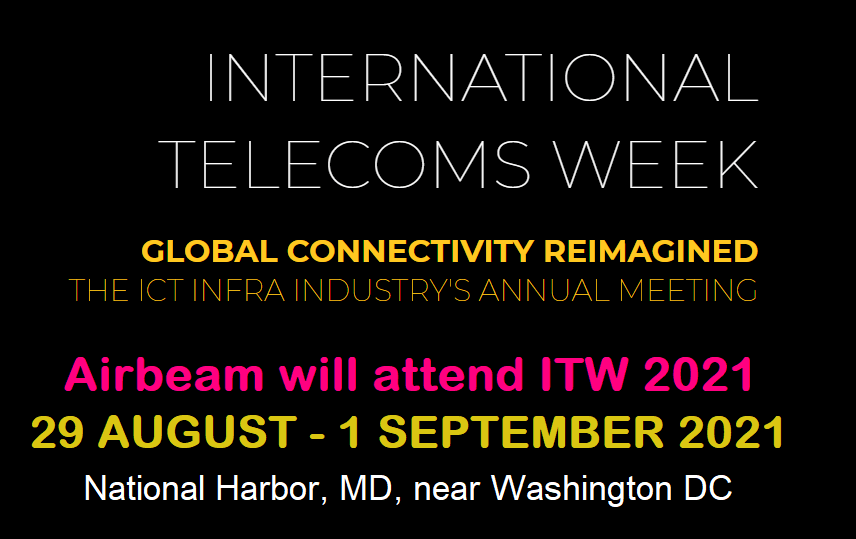 Airbeam at International Telecoms Week (ITW) 2021