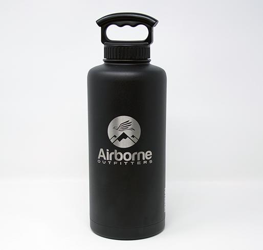 Airborne outfitter black 64 oz. bottle