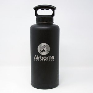 Airborne outfitter black 64 oz. bottle
