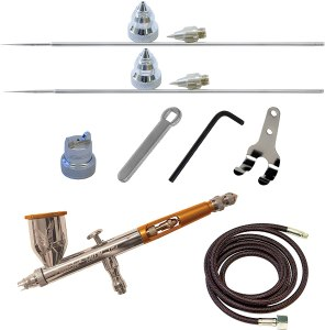Components of an Airbrush Compressor Kit set