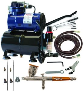 Components of an Airbrush Compressor Kit
