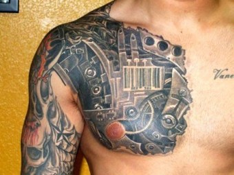 3D-tattoo-mecha