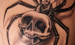 3d-tattoo-big-spider-with-skull