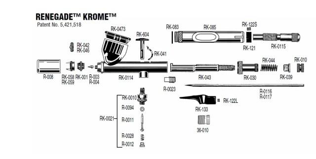 Krome Parts List