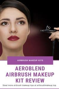 Aeroblend Airbrush Makeup Kit Review