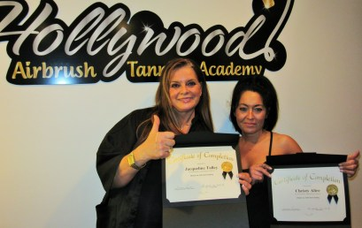 Our Latest Certified Airbrush Tanning Technicians from Utah & Colorado