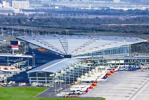 Aeropuerto de Binhai de Tianjin está a punto de convertirse en un gran aeropuerto de manejo de carga.