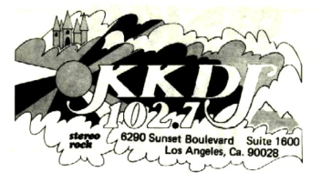 T. Michael Jordan on KKDJ Los Angeles | May, 1973